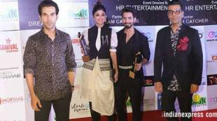 Dadasaheb Phalke Excellence Awards are handed out by the Mumbai-based Dadasaheb Phalke Foundation. The award ceremony took place in Mumbai on April 21 where the A-listers of the entertainment industry graced the red-carpet and won big at the show. From Karan Johar to Rajkummar Rao, here's the list of celebrities who took the precious award home. (Source: Photo by Varinder Chawla)