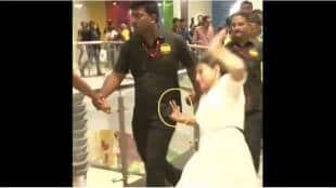 kajol slip down in mall