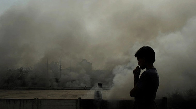 air pollution, effects of air pollution, air pollution linked to mental disorder, air pollution health effects, indian express