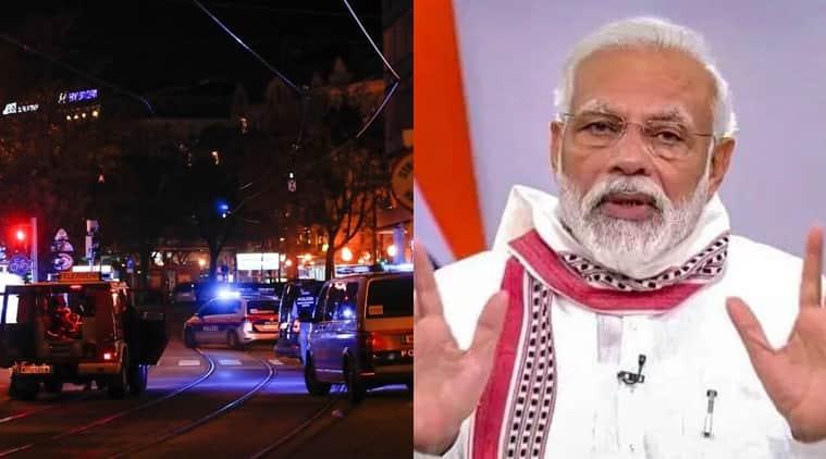Vienna terror attack PM modi