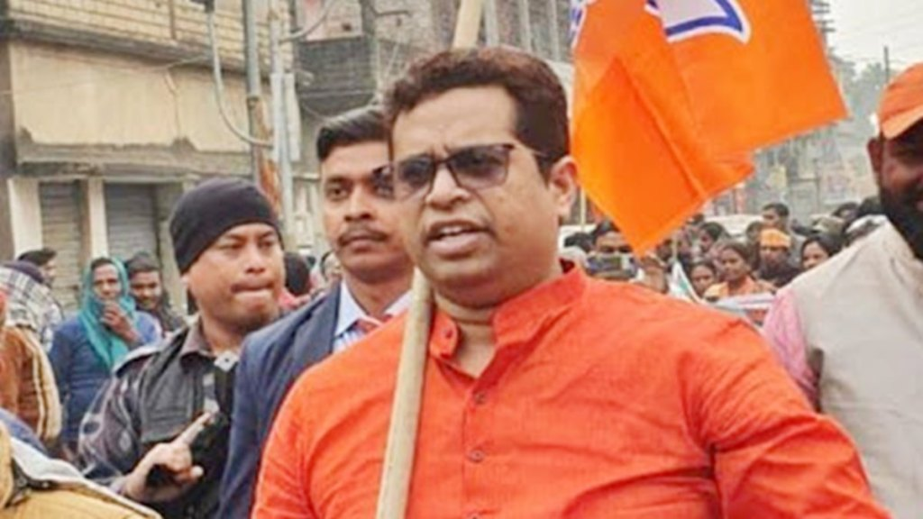 mp soumitra khan resigns from WB BJP yuva morcha post