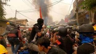 Myanmar Army Coup, Refugee, India. Manipur, Mizoram, United Nation