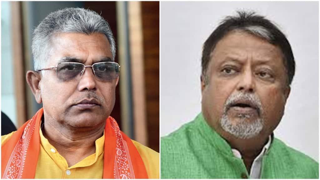 Dilip Ghosh, Mukul Roy, BJP, TMC