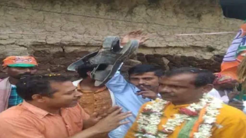 West Bengal Election 2021, Birbhum, Lavpur, BJP, TMC, Protest