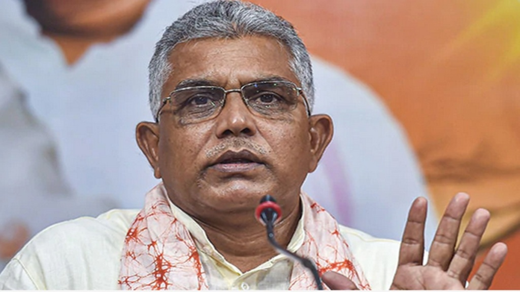 Suvendu won't contest, someone else will defeat Mamata now, says Dilip Ghosh