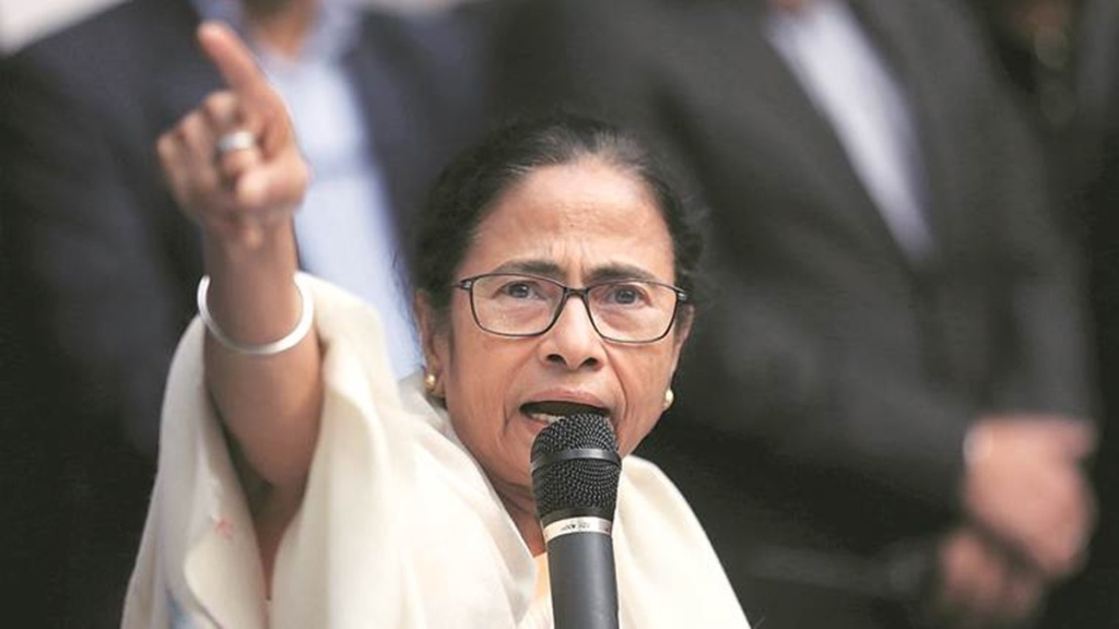 bjp is monkey without tail says mamata banerjee