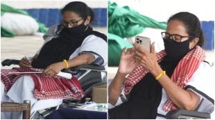 mamata dharna west bengal election 2021