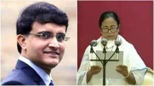 Sourav gangully avoided Mamata's swearing-in ceremony