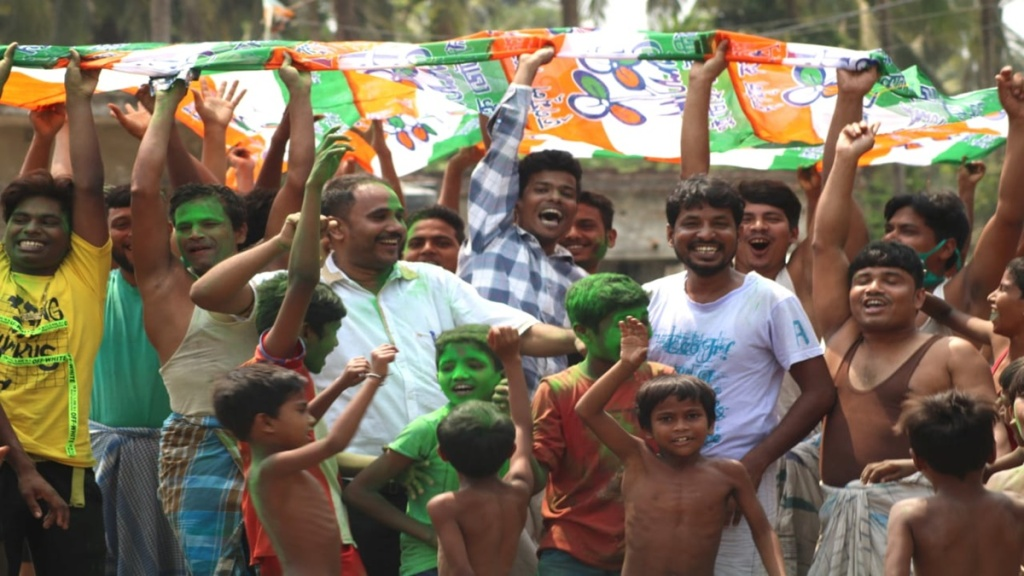 west bengal poll result 2021 Missing covid rules
