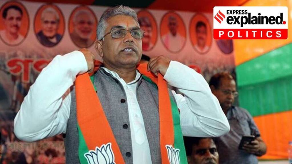 Dilip Ghosh, BJP, Express Explained