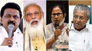PM Narendra Modi, Mamata Banerjee, Pinarayi Vijayan, MK Stalin