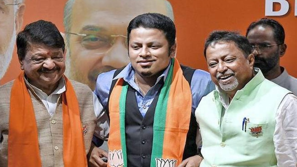 Anupam Hazra was vocal about lobbying in the bjp