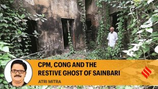 CPM Congress and the restive ghost of Sainbari west bengal