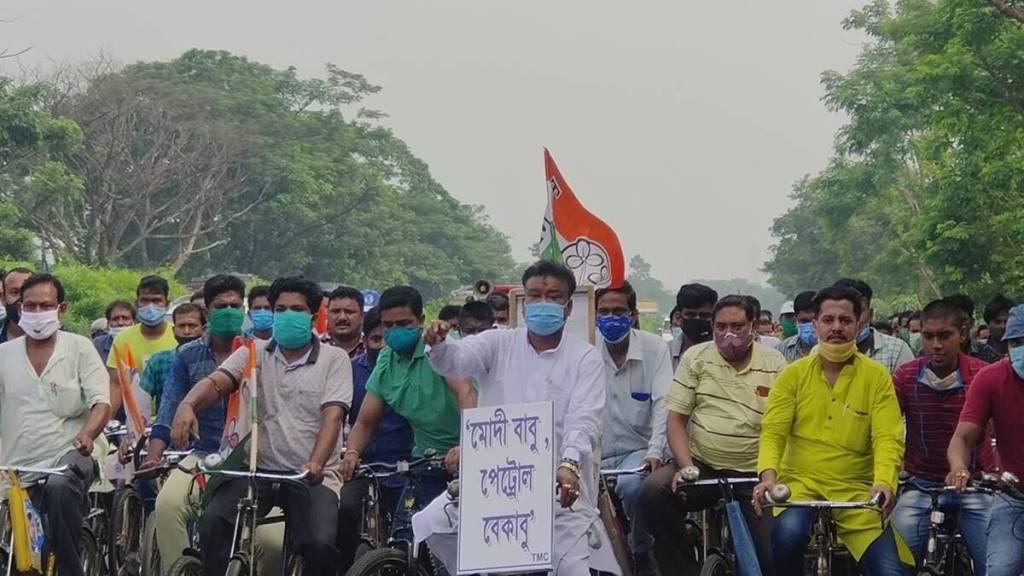 Becharam Manna, Petrol Price in Kolkata, Cycle Rally, Bangla News