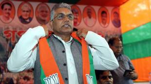 dilip ghosh assaulted during bhawanipur byelection campaign