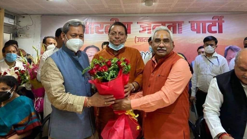 Pushkar Singh Dhami, Uttarakhand, BJP, RSS