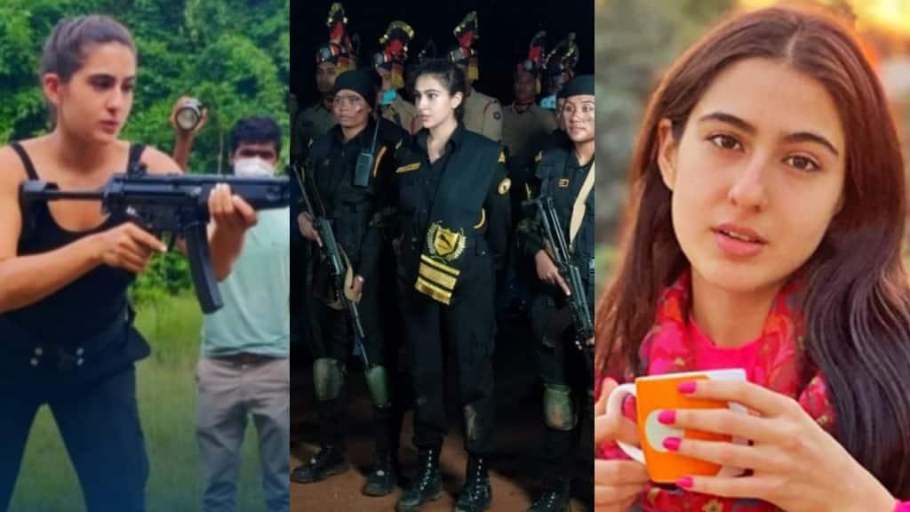 Sara Ali Khan, Assam police, Veerangaa battalion, Assam police Veerangaa battalion, bollywood, bengali news today, সারা আলি খান, বীরাঙ্গনা, অসম পুলিশ
