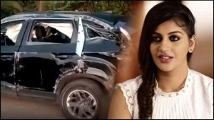 Tamil Actress, Road Accident