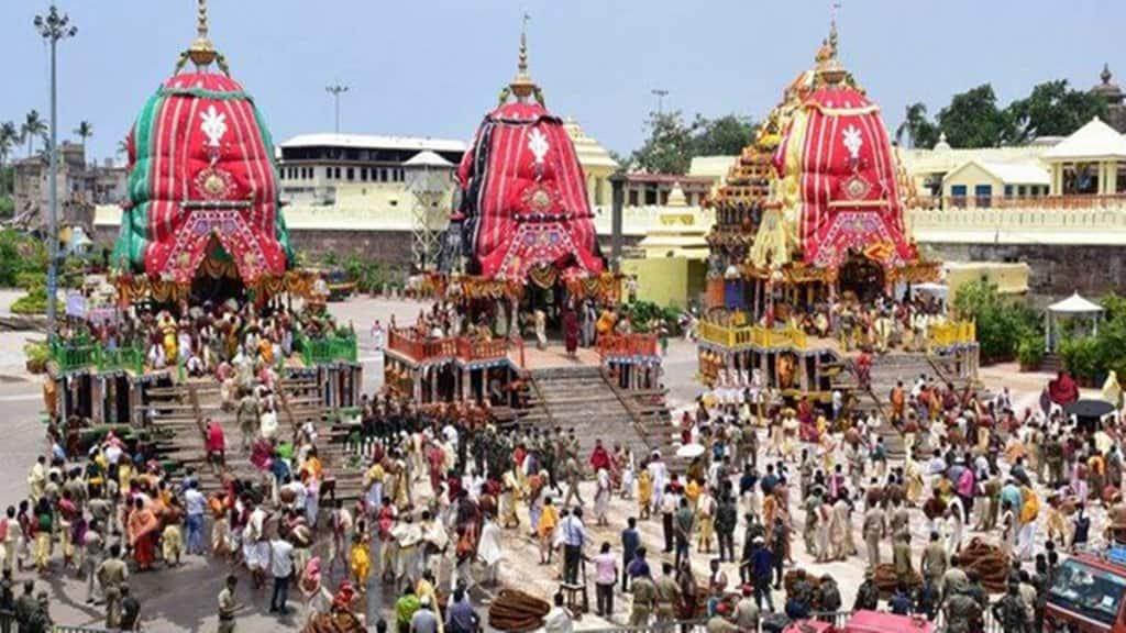 jagannath rath yatra puri 2021 without devotees