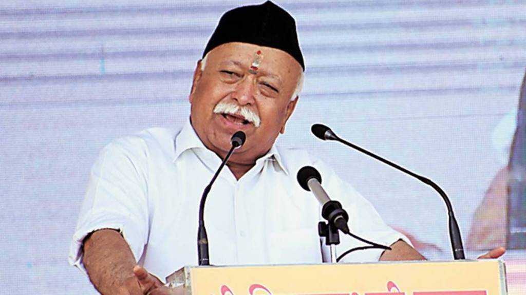 Hindus converting for marriage are committing wrong says RSS chief Mohan Bhagwat