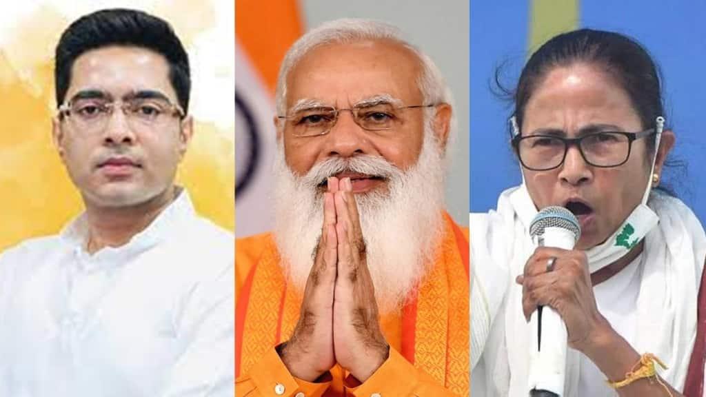 Mamata Banerjee slams bjp over EDs notice to abhishek banerjee and rujira