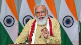 PM Modi at launch of new Defence offices complex