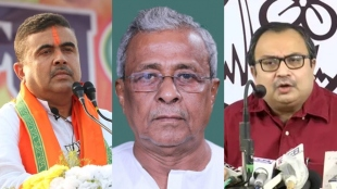 in which party does your father sisir adhikari belongs kunal ghosh question to suvendu