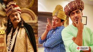 Hobu Chandra Raja Gobu Chandra Mantri, Saswata Chatterjee praises Producer Dev, Saswata Chatterjee, Dev, Arpita Chatterjee, হবু চন্দ্র রাজা গবু চন্দ্র মন্ত্রী, শাশ্বত চট্টোপাধ্যায়, দেব, প্রযোজক দেব, দেব-শাশ্বত, অর্পিতা চট্টোপাধ্যায়, bengali news today, Tollywood