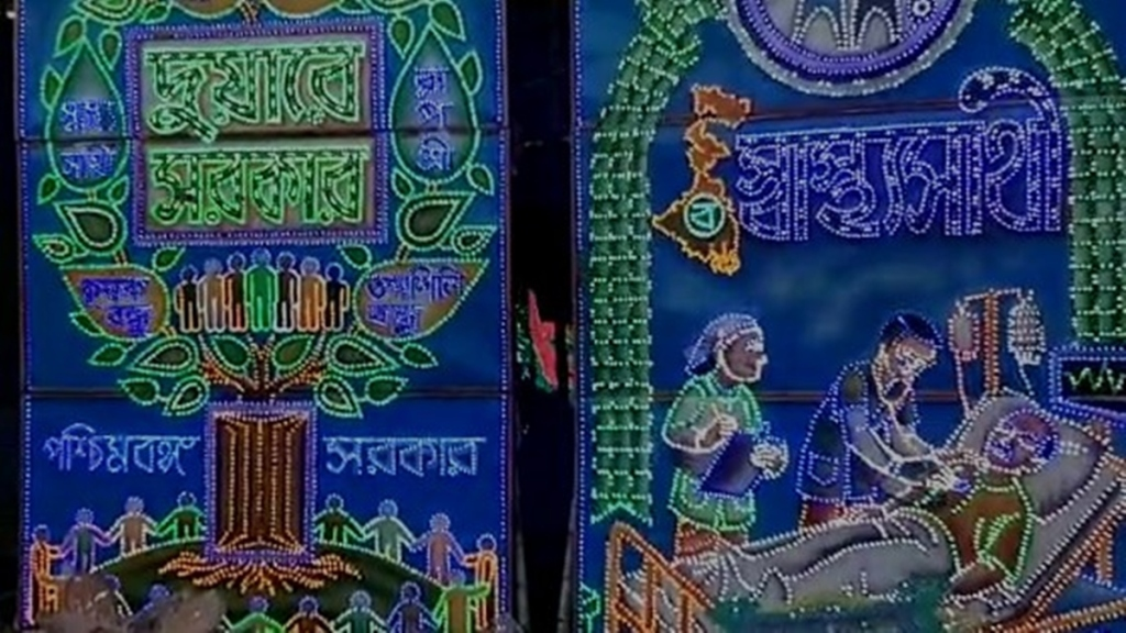 demand for work has increased light artists of Chandannagar are getting relief