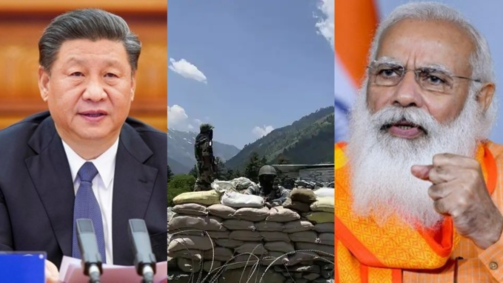 India rejects Chinas allegations blames Beijings troop build-up for border tension