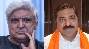 No film of Javed Akhtar will be screened until he apologises with folded hands warned BJP MLA Ram Kadam