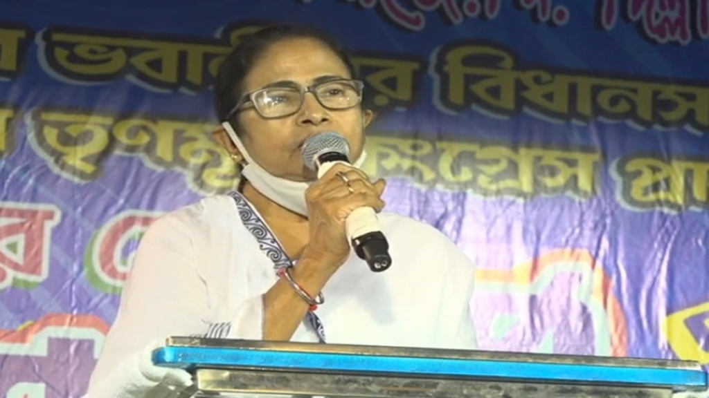 BJP has voted in Nandigram with agencies and weapons said Mamata banerjee at bhawanipur campaign