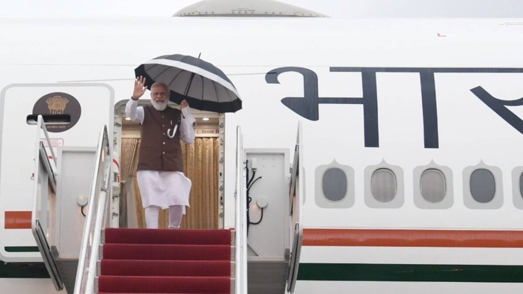 PM Modi arrives in US to attend Quad leaders' summit