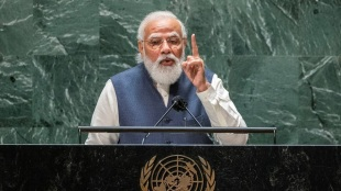 Democracy to diversity, terror fight to vaccine, when India grows, so does world, says Pm Modi