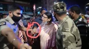 priyanka tibrewal bring molested physical assault charges against kolkata police dc south akash magharia