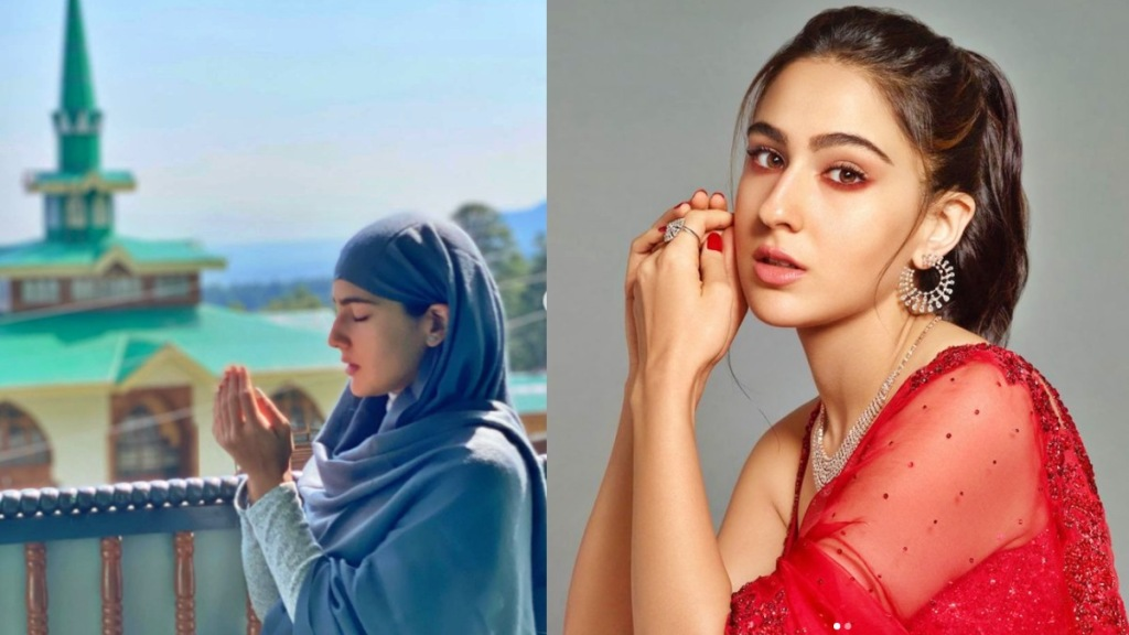 Sara Ali Khan, Bollywood, সারা আলি খান, সর্ব-ধর্ম সমন্বয়ের বার্তা সইফ-কন্যার, bengali news today