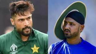 Harbhajan Singh and Mohammad Amir engage in a war of words on Twitter
