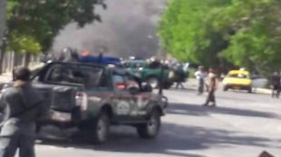 Blast hits mosque in Kandahar city at Afghanistan