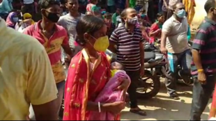 Children suffering fever and respiratory sickness, atleast 9 have died at Burdwan medical college hospital