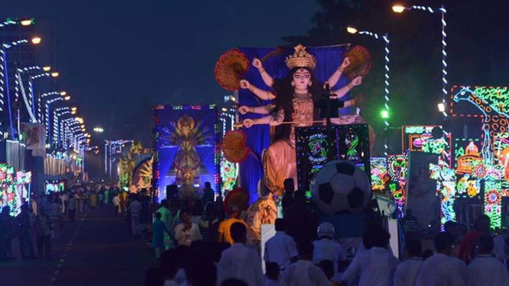 Durga puja 2021 guidelines by nabanna no red road carnival