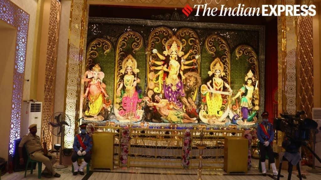 In Kolkatas Alimuddin Street area residents bring back Durga Puja after 15 years