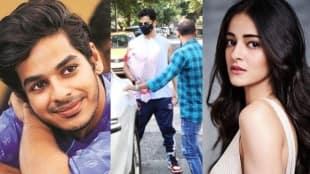 Ishaan Khatter, Ananya Panday, NCB, Ishaan Khatter visits Ananya Panday, ঈশান খট্টর, অনন্যা পাণ্ডে, অনন্যার সঙ্গে দেখা করতে গেলেন ঈশান, bollywood, bengali news today