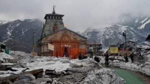 Chardham yatra in Uttarakhand halted temporarily for heavy rains