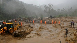 The death toll from heavy rains and catastrophic landslide in Kerala rose to eight
