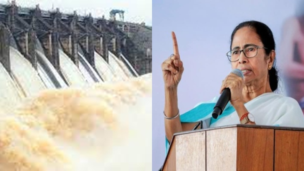 Mamata blamed DVC for the flood situation in Bengal