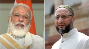 Modi first to comment on Pakistan but afraid to say anything against China Asaduddin Owaisi