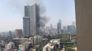 Mumbai Fire on 19th floor residential building in Lower Parel updates