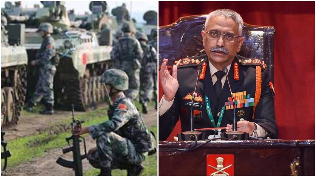 China's continuous build-up matter of concern, says Army Chief Gen Naravane