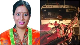 Bjp ward co ordinator tista biswas died is an accident at tamluk